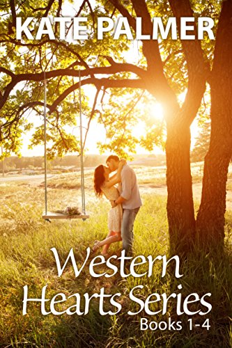 Western Hearts Series Books 1-4: Snowed Inn, Storm, Olivia, Alexis by [Palmer, Kate]