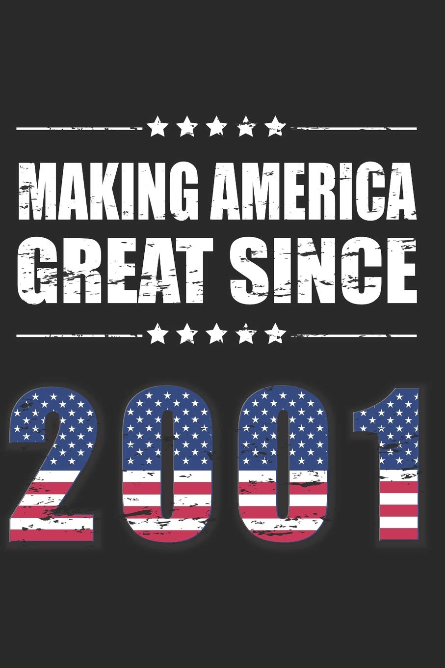 Making America Great Since 2001: Funny 18 Years Old Birthday