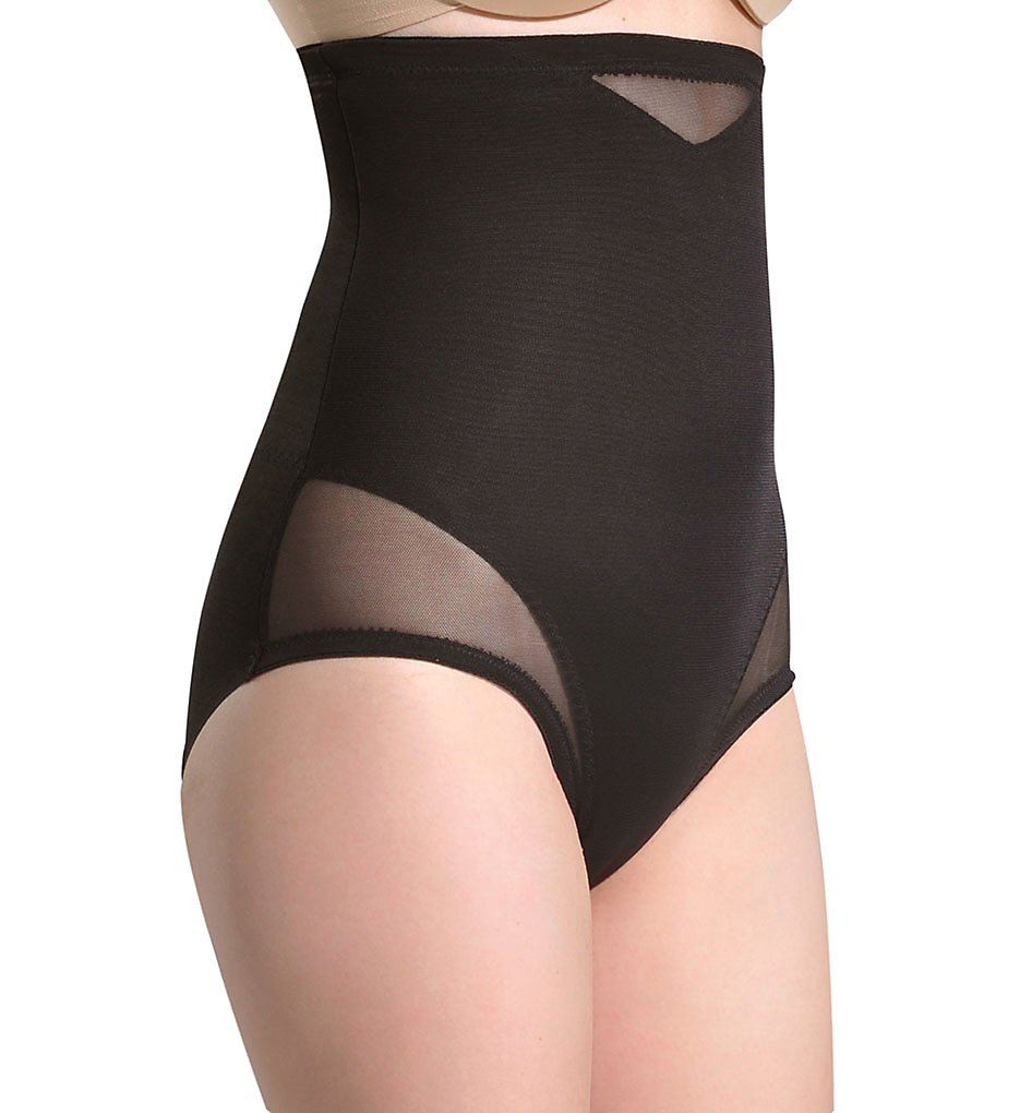 e7350160b44 Miraclesuit Shapewear Women s Extra Firm Sexy Sheer Shaping Hi-Waist Brief  Bl..
