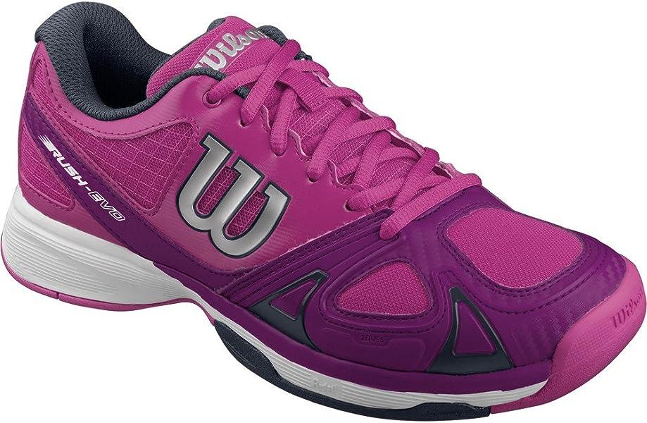 Wilson Rush Evo W, Zapatillas de Tenis Mujer, Rosa (Azalee Pink / Dark