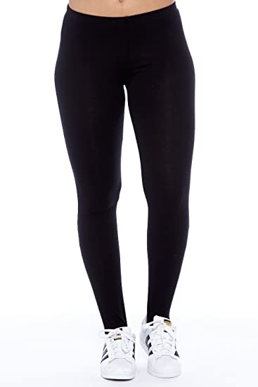 d8757e4e6a GENx Womens Workout Elastic Cotton Strap Feet Leggings Pants RP32195 at Amazon  Women's Clothing store:
