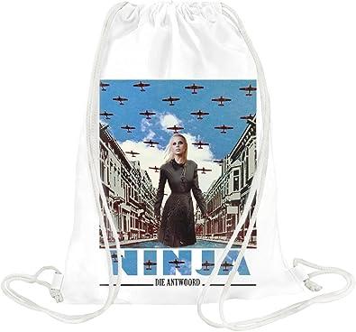 Die Antwoord Enter The Ninja Drawstring bag: Amazon.es ...