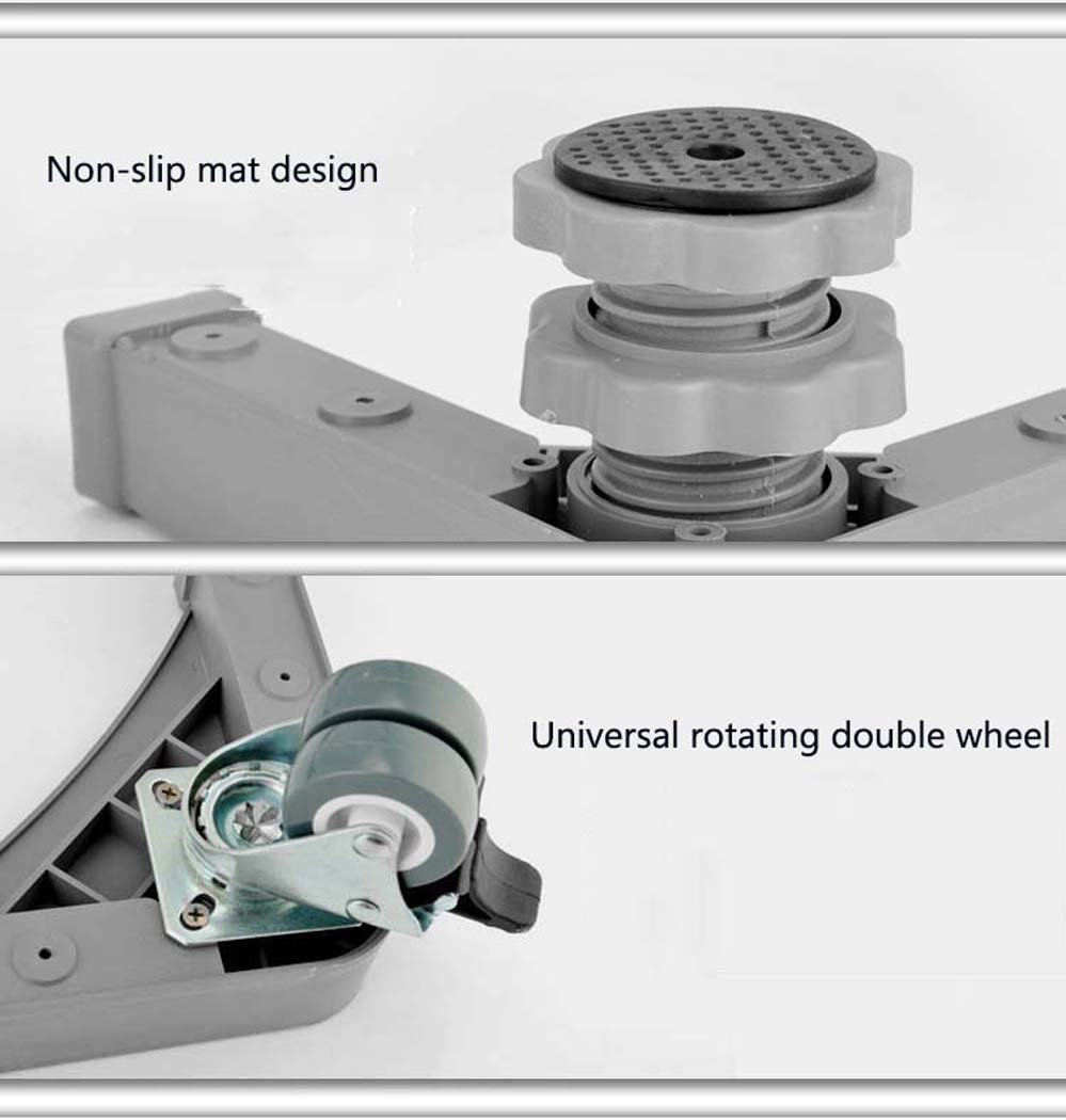 DSHBB Washing Machine Base, Universal Multi-functional Adjustable Base With Casters,for Dryer,Washing Machine And Refrigerator (Size : 1) by DSHBB (Image #4)