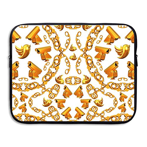 Ministoeb Golden Age Crop Love Laptop Storage Bag - Portable Waterproof Laptop Case Briefcase Sleeve Bags Cover by Ministoeb (Image #4)