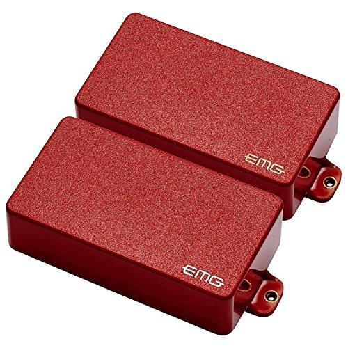 Emg Emg Control Set (EMG 81/85 Active Electric Guitar Humbucker Pickup Set Red)