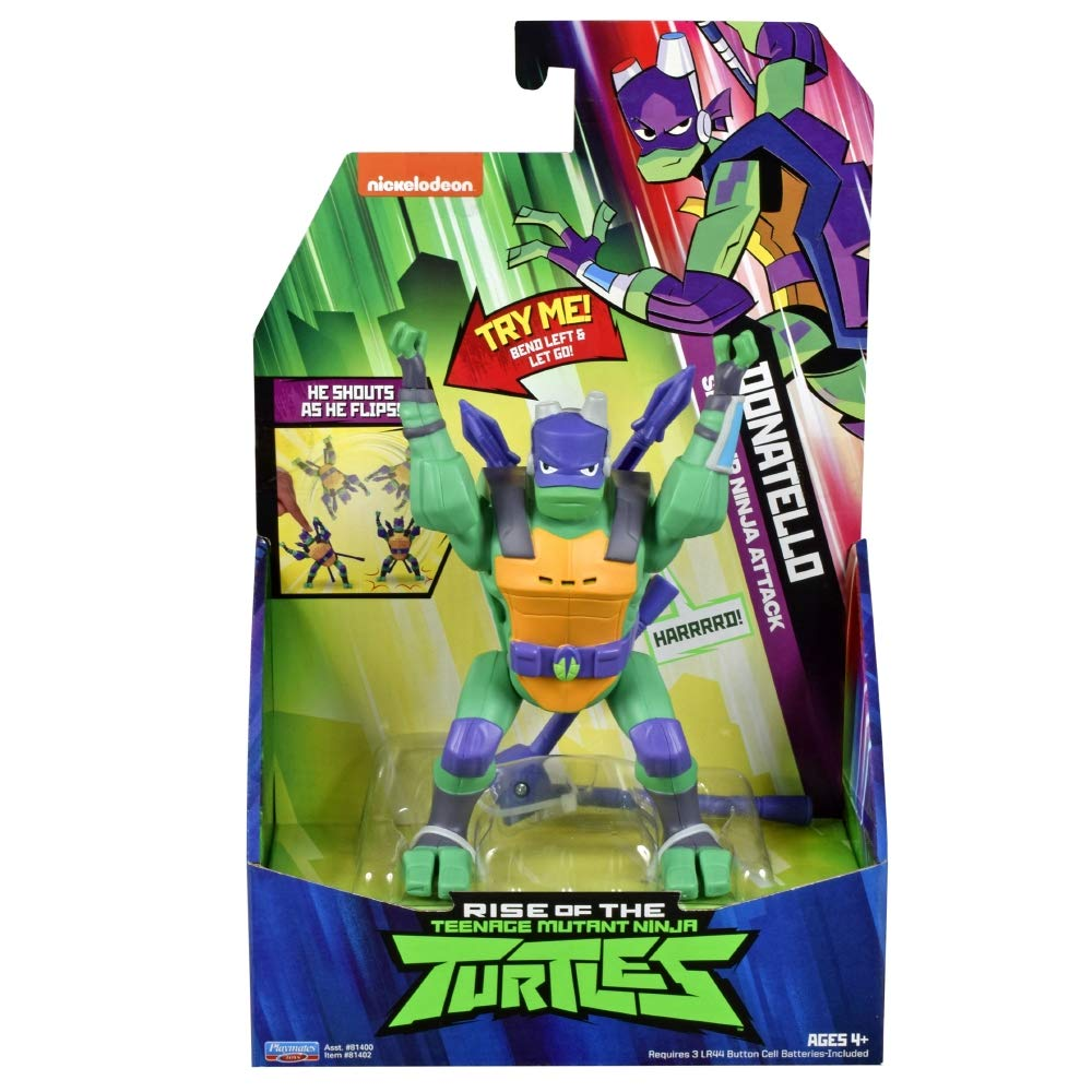 Teenage Mutant Ninja Turtles TUAB2200 The Rise Deluxe Action ...