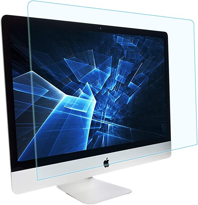 MUBUY Anti Blue Light Anti Glare Screen Protector Design for 21.5-inch iMac Retina 4k display   iMac 21 Models A1418 A1311 A1224, Reduces Digital Eye Strain Help You Sleep Better