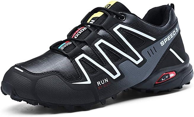 Kauson Zapatillas de Trekking para Hombres Zapatillas de Senderismo Botas de Montaña Antideslizantes AL Aire Libre Zapatillas de Deportes Zapatillas de Trail Running para Hombre 39-48: Amazon.es: Zapatos y complementos