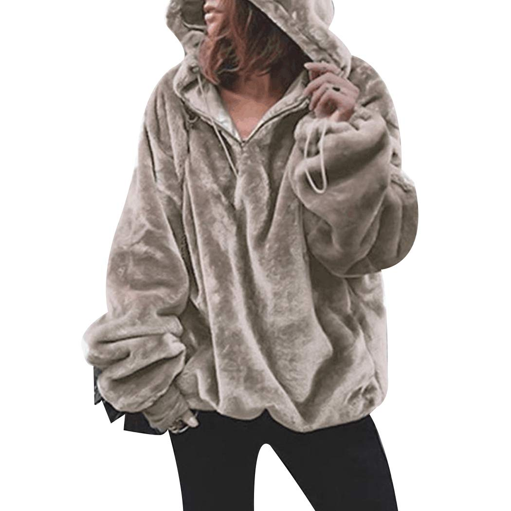 MIOIM Womens Casual Hoodie Hooded Sweatshirt Fleece Jacket Sweater Hoody Top 1447471078111