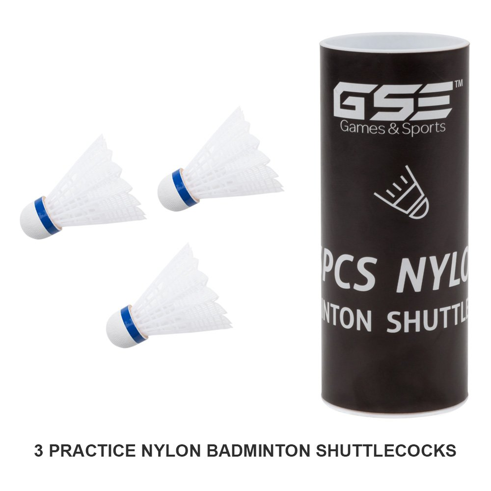 GSE Games & Sports Expert Professional Portable Badminton Volleyball Combo Set. Including Volleyball/Badminton Net System and Accessories by GSE Games & Sports Expert (Image #5)