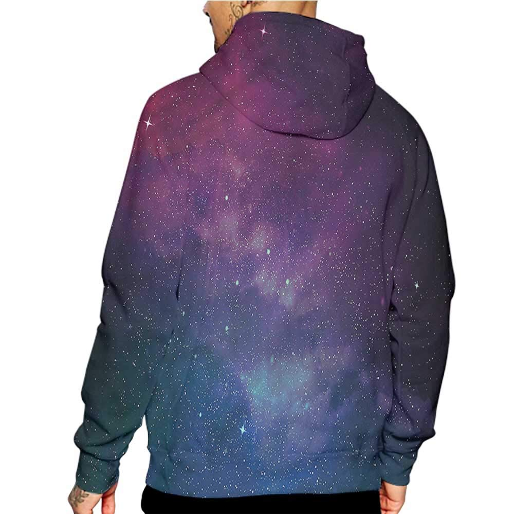 Hoodies Sweatshirt/ Men 3D Print Spaceship,Rockets in Universe,Sweatshirts for Men Prime