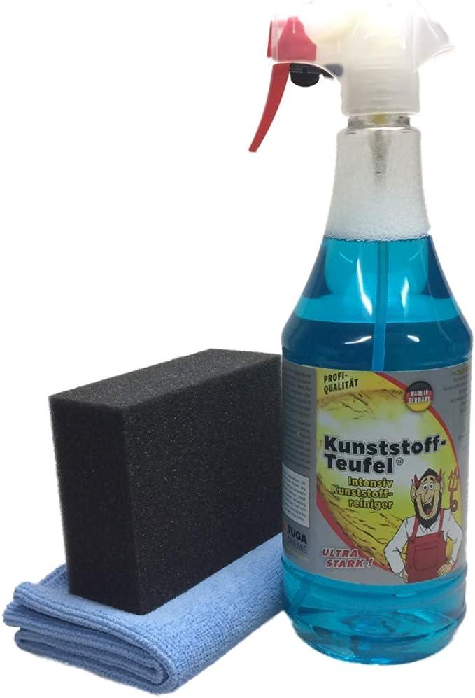 Dft Tuga Chemie Kunststoff Teufel 1000 Im Set Mit Applicator Microfasertuch Auto