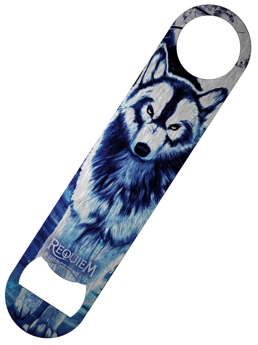 Requiem Collective Benithe Wolf Bar Blade Bottle Opener 18 x 4cm