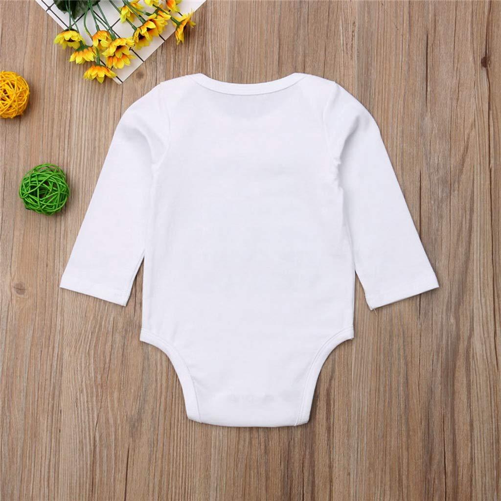 Short Sleeve,12M Baby Boys Girls Clothes Short Sleeve Cotton Jumpsuit Toddler Kids Round Neck Bodysuit