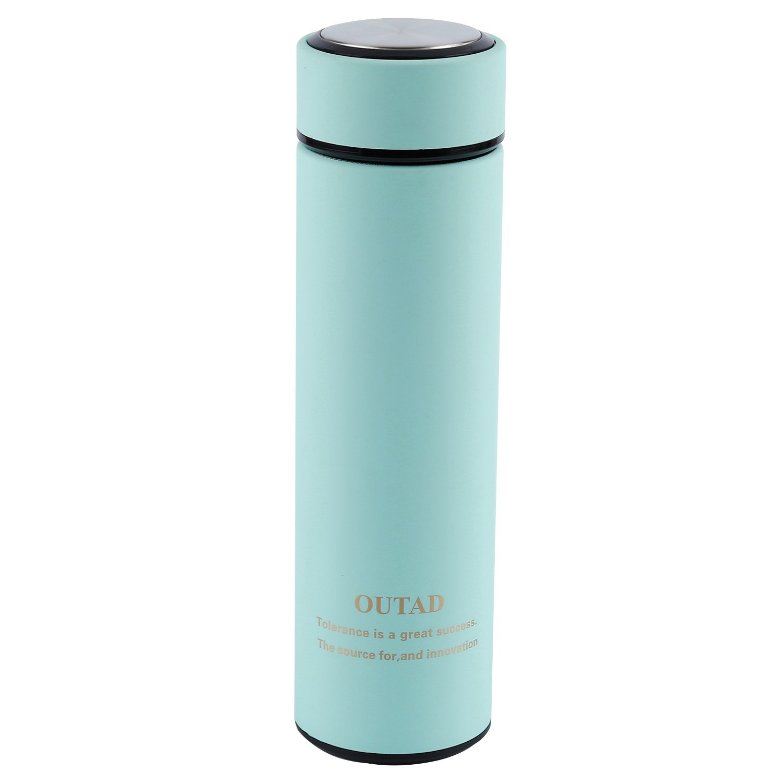 OUTAD Fitness Trinkflasche - Premium Aus Edelstahl Isolierflasche ...