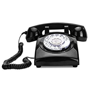 Wired Telephone | Amazon Com Wired Telephone Retro Antique Fixed Set Home Desk Desk