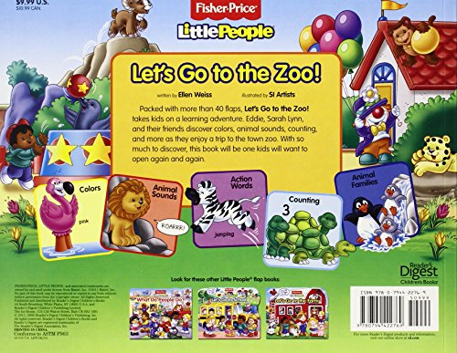 Fisher Price Little People Zoo Book