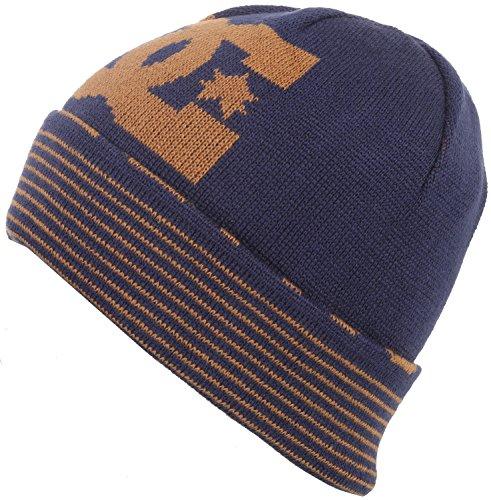 DC Men's Bromont Beanie, Patriot Blue, One Size (Beanie Hat Dc)
