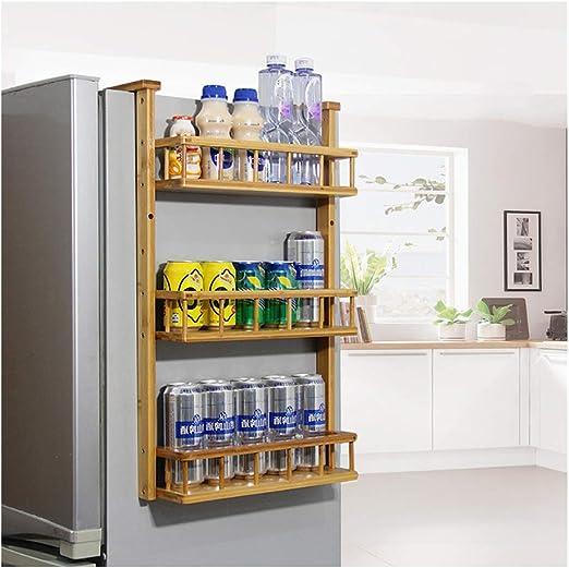 3 Layer Kitchen Shelf Pantry Storage Can Spice Jar Rack Shelves Organiser Tool