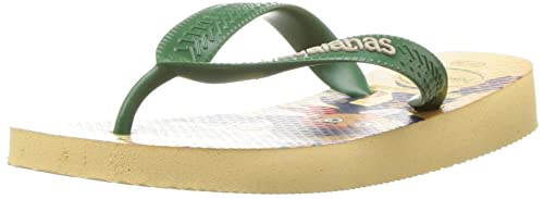 Havaianas Kids Jake and The Pirates Sandal, Ivory 25/26 BR/Little Kid (10 M US)