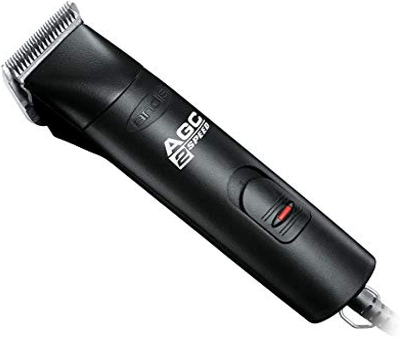Andis 22340 ProClip 2-Speed Detachable Blade Clipper, Professional Animal Grooming, AGC2, Black