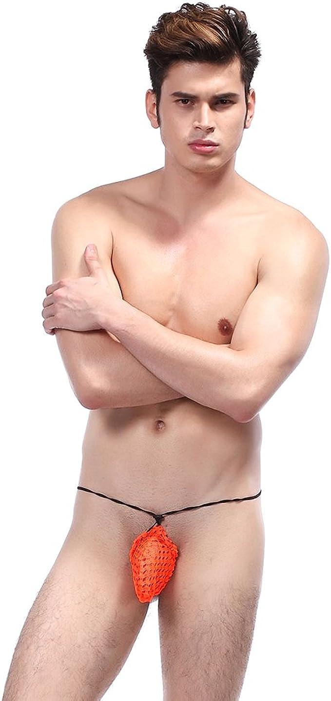Tanga Herren Unterwäsche Atmungsaktiv Netz G-String Unterhosen Schlüpfer