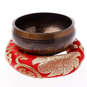 Yoga Tibetano Cantar Tazón Estera Himalaya Martillo de mano ...