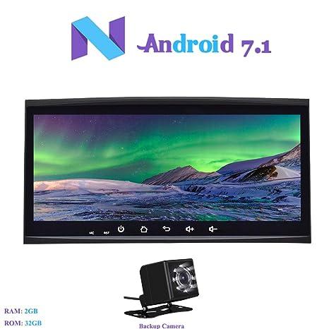 """Hi-azul Android 7.1 Autoradio Car Radio 8.8"""" Navegación GPS De Coche RAM 2G"""