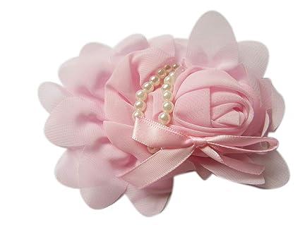 Hair Accessories Rose Flower Chiffon Headband