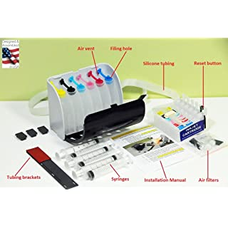 INKXPRO Brand XPRO III Series Empty Ciss Continuous Ink Supply System for Artisan 1430, 1400 Printers (for Sublimation, dye or Pigment Ink)