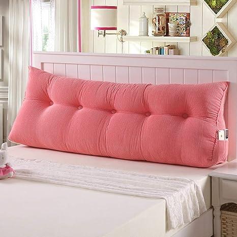 QJE Pillow Doble cabecera Almohada sofá cojín Grande ...