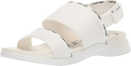 Calvin Klein Women's UNO Flat Sandal