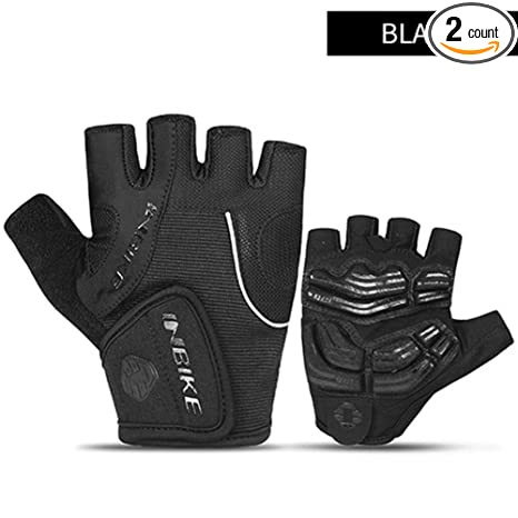 New Bicycle Summer Women/'s Half Black Medium Size Finger Glove