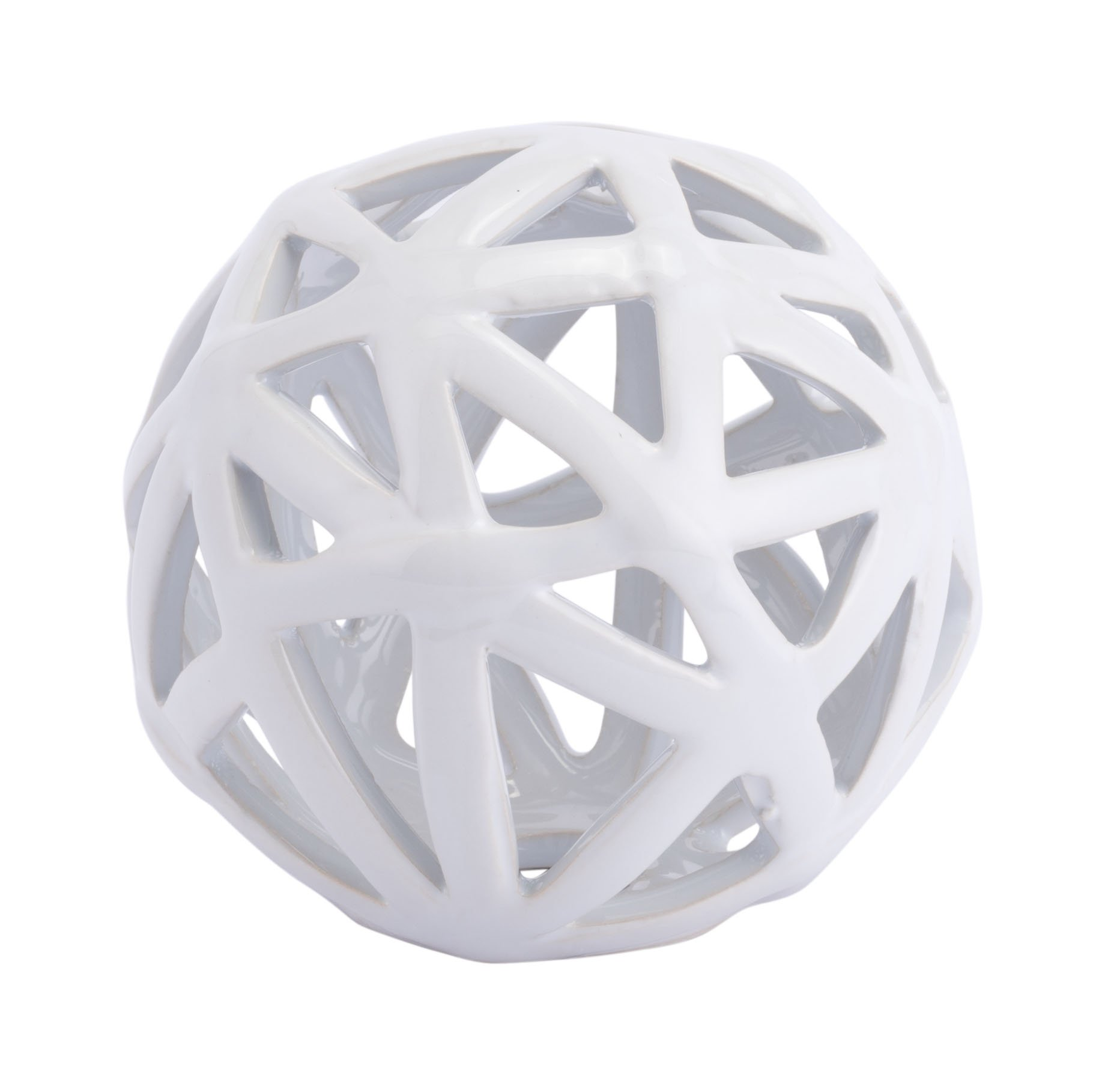 Zuo Orb Small Figurines, White by Zuo Modern