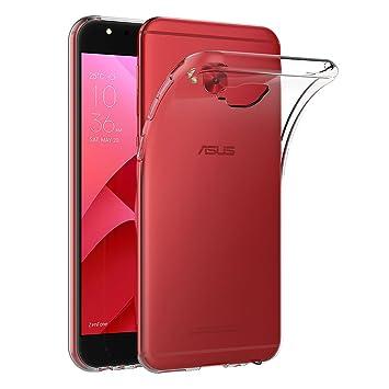 AICEK Funda ASUS Zenfone 4 Selfie Pro ZD552KL, Transparente Silicona Fundas para ASUS Zenfone 4 Selfie Pro ZD552KL Carcasa Silicona Funda Case (5,5