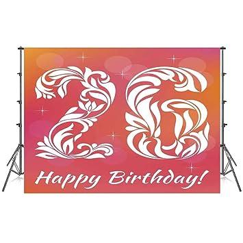 26 cumpleaños Decoraciones Elegante telón de Fondo, Suave ...