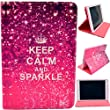 iPad Mini Case,Keep Calm and Sparkle The Intelligent Dormancy PU Leather Case Cover Stand for Apple iPad Mini / Mini 2 / Mini 3 (Package includes: 1 X Screen Protector and Stylus Pen image)