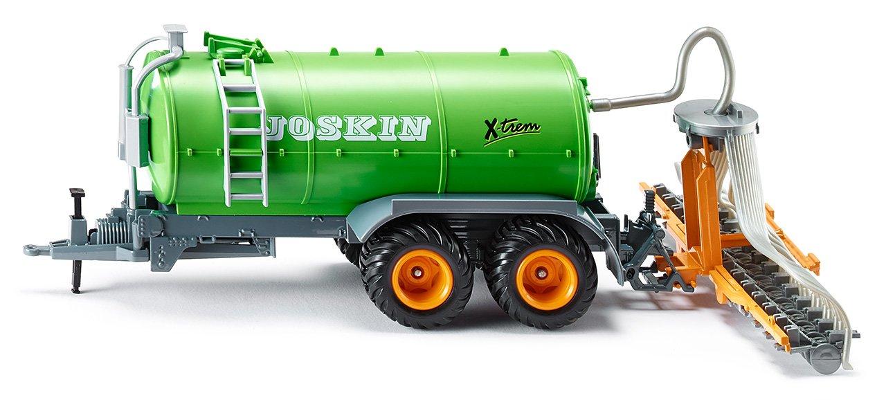 1:32 SIKU 2270 Bewegliche Teile Gr/ün Abnehmbarer Schlauchverteiler Fasswagen Metall//Kunststoff