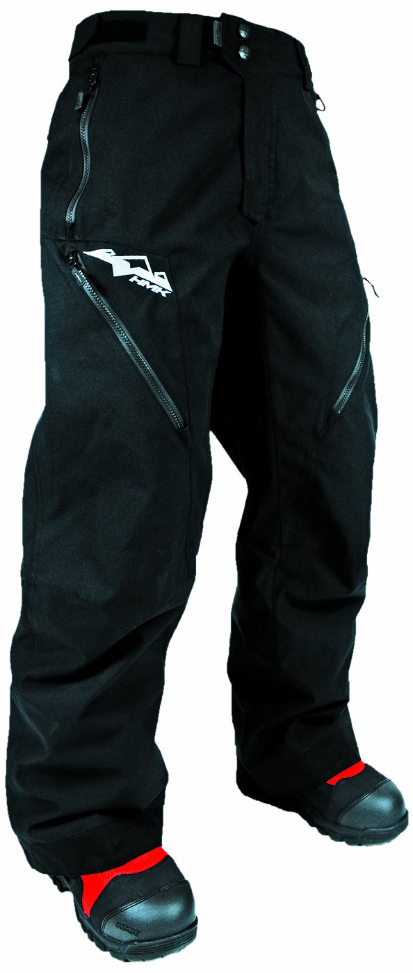 HMK Men's Hustler 2 Pants (Black, X-Small)