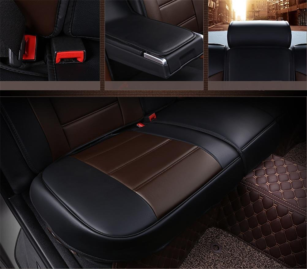 Set-Easy 5 seats car seat cushion filling and whole to clean leather Programmable Universal Fit seat covers car by YAOHAOHAO (Image #5)