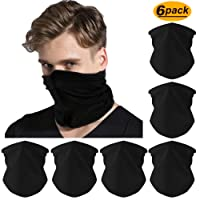 6pcs Magic Wide Wicking Headbands Outdoor Headwear Bandana Sports Scarf Tube UV Face Mask for Workout Yoga Running Hiking Riding Motorcycling