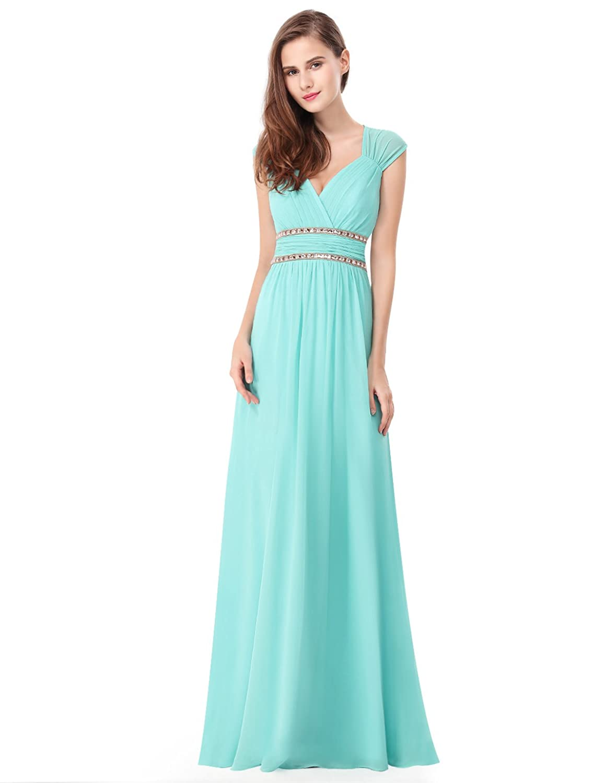 Amazon.com: Ever Pretty Women's Sleeveless Grecian Style ...