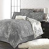 Spirit Linen, Inc Hotel 5th Ave 6PCFOLCOMF-Gwq Foliage Comforter Set