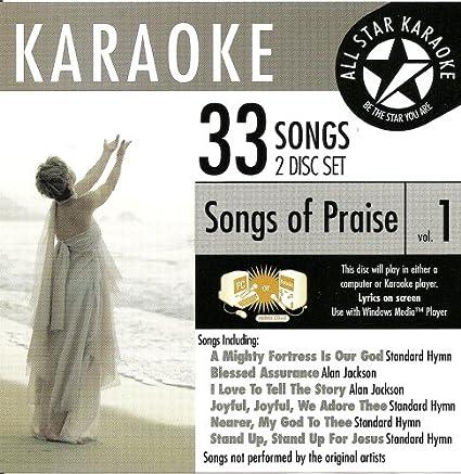 Standards Ask 81 Christian Karaoke Songs Of Praise Vol 1