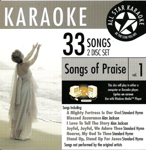 Standards Karaoke Cd - ASK-81 Christian Karaoke:Songs of Praise vol.1