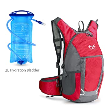 Bicycle backpacks waterproof with 2L Hydration Bladder 9f4f721a8