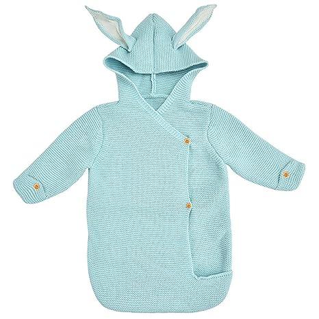 Baby Shark Bites Saco de dormir recién nacido Manta envuelta en una manta Snuggle wrap conejo