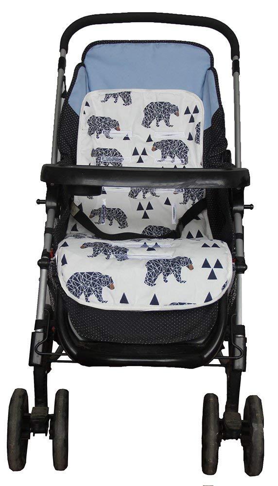 Amazon.com: Funda para asiento de bebé para cochecito, súper ...
