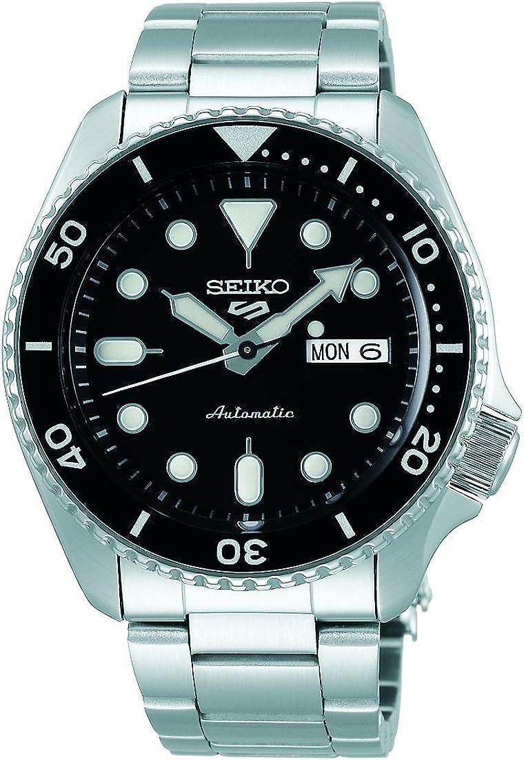 Reloj Seiko para Hombre, Negro, Sport, 5K1