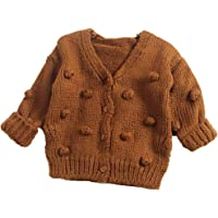 Infant Toddler Baby Girl Cardigan Sweater Knit Long Sleeve Sweaters Tops Fall Winter Outwear Warm Clothes